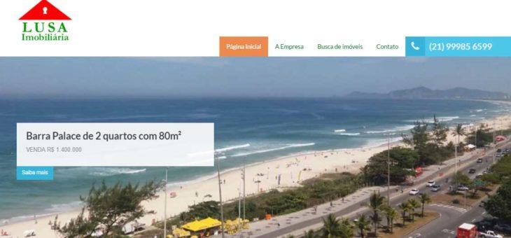 Novo site da Lusa Imobiliária