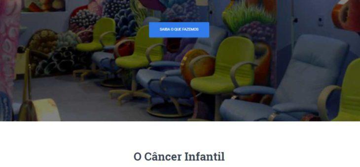 No ar, novo site da Curumim Associação de Combate ao Câncer Infantil